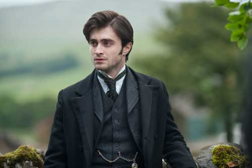"Daniel Radcliffe stars in a scene from the movie ""The Woman in Black."