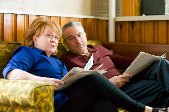 """Jacki Weaver and Robert DeNiro star in a scene from the movie """"Silver Linings Playbook."""" (CNS photo/Weinstein)"""