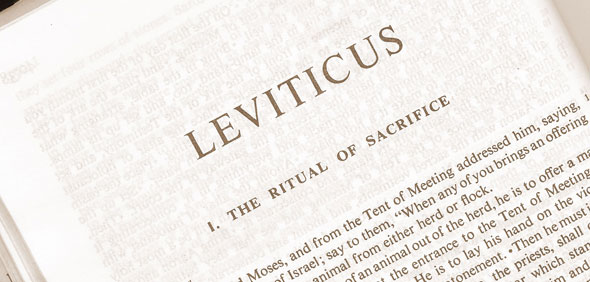 """""""The instructions in Leviticus were for the priests of that time only. They apply nowhere else in history, and certainly not to the clergy of New Testament times."""""""