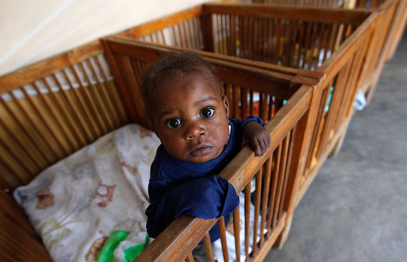 """Safeguarding children from parental abuse is a matter of human rights"" (CNS photo/Thomas Mukoya, Reuters)"