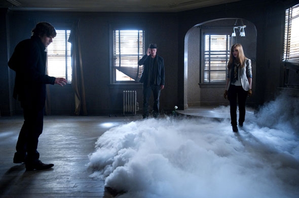 """Jesse Eisenberg, Woody Harrelson and Isla Fisher star in a scene from the movie """"Now You See Me."""" (CNS photo/Summit Entertainment)"""