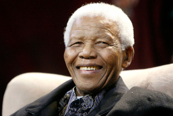 Nelson Mandela shows us all what faith, hope and love can achieve.