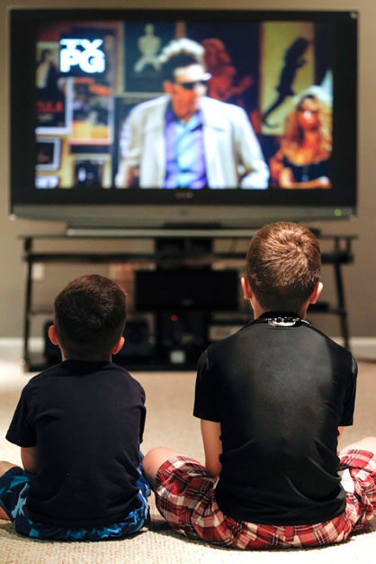 """...researchers found that the kind of TV shows children watch can modify their behaviour for the better."""