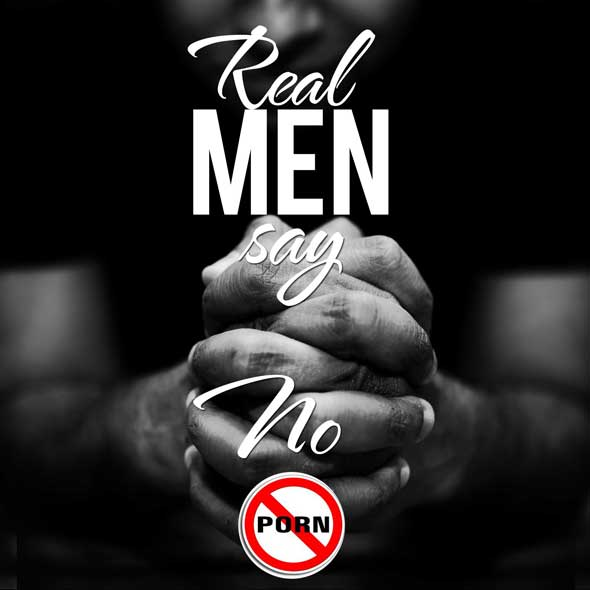 Real Men Say No - (Graphic: The Southern Cross)