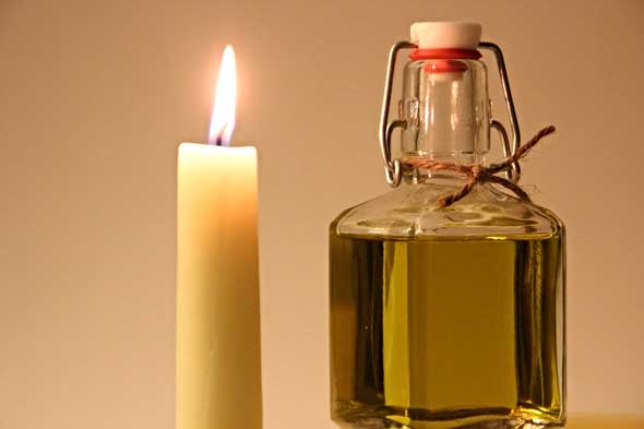 Blessed Oil is to be used as a sacramental - strengthening, protection and healing - similar to Holy Water