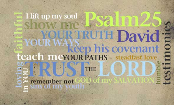 Psalm-25-wordle
