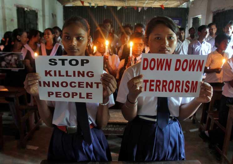 (CNS photo/Jayanta Dey, Reuters)