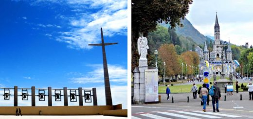 San Giovanni Rotondo in south-eastern Italy, and Lourdes in southern France (Photos: Günther Simmermacher)