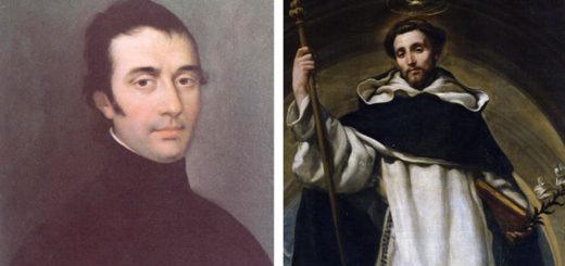 St Eugne de Mazenod and St Dominic
