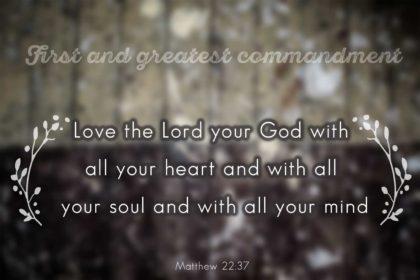greatest-commandment