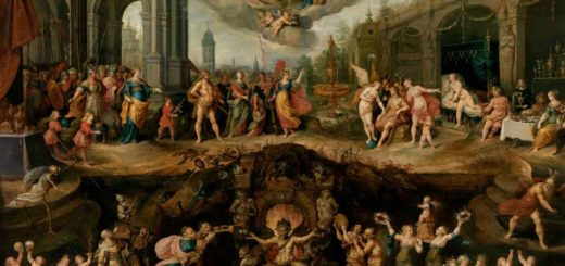 Mankinds eternal dilema- The Choice between virtue and vice.  Frans Francken