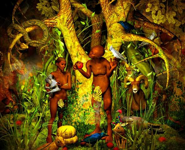 evolution in the garden of eden the southern cross