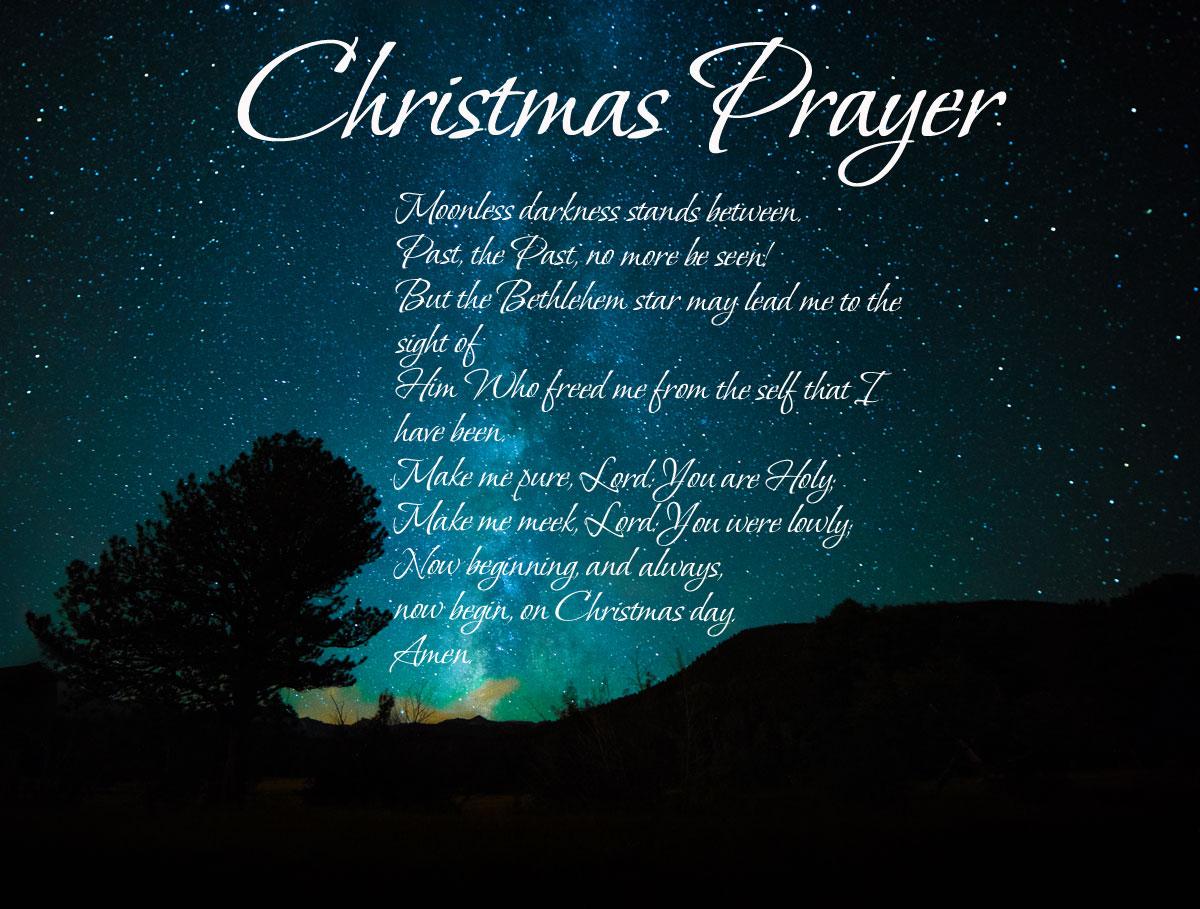 Christmas Prayer.Christmas Prayer The Southern Cross