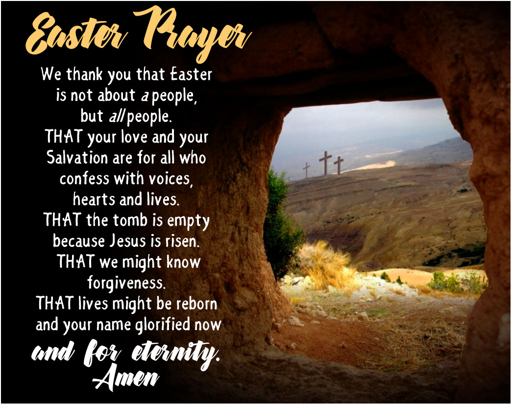 Prayer for Easter - The Southern Cross