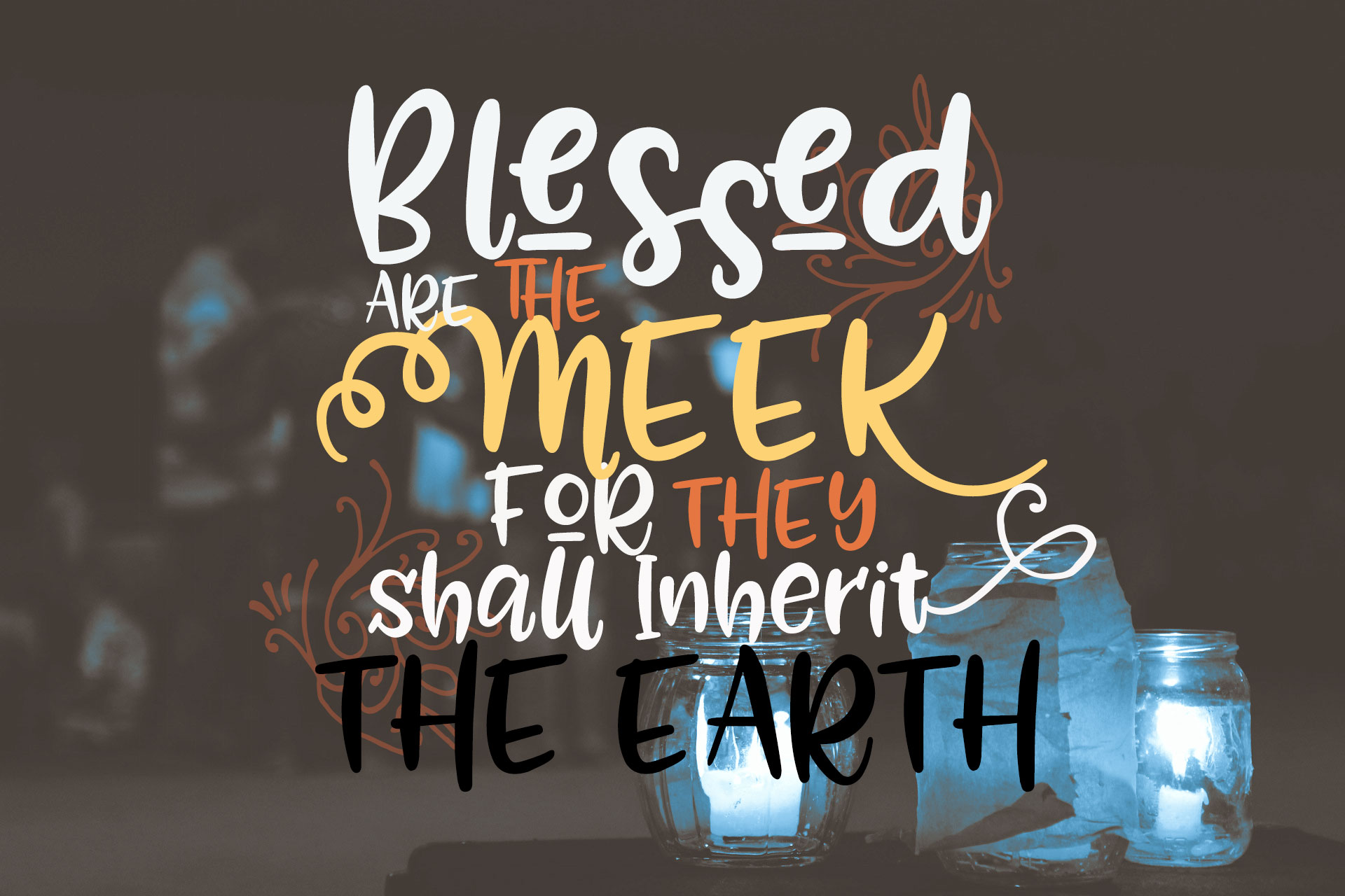 Image result for blessed are the meek