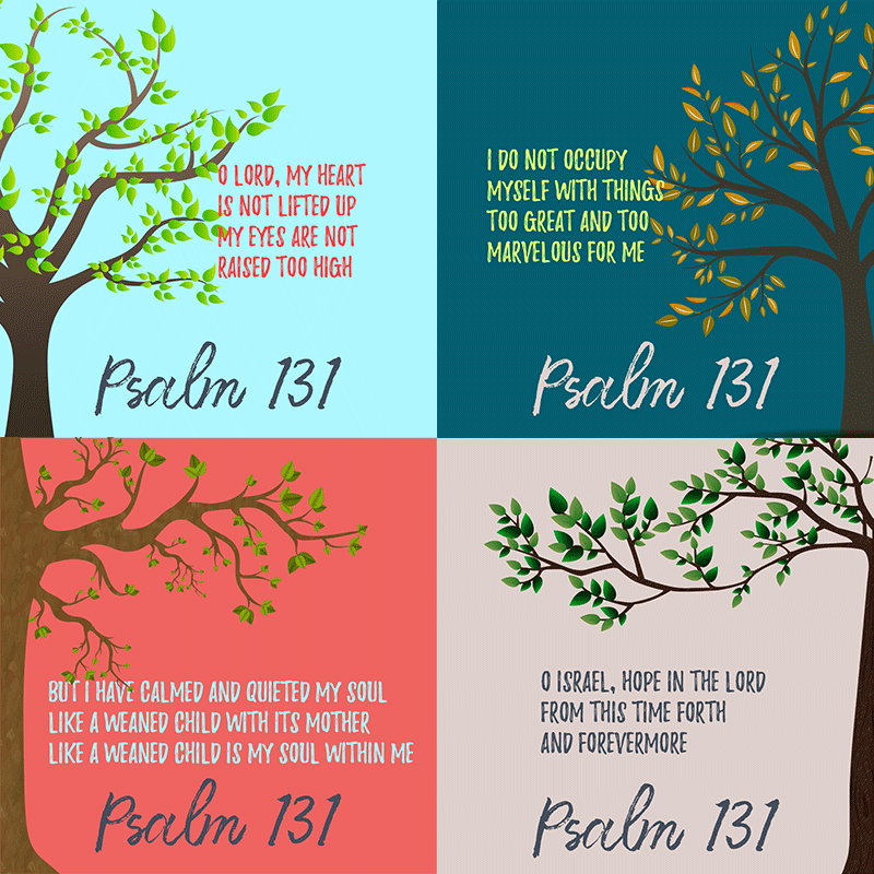 learning psalm 131 the southern cross