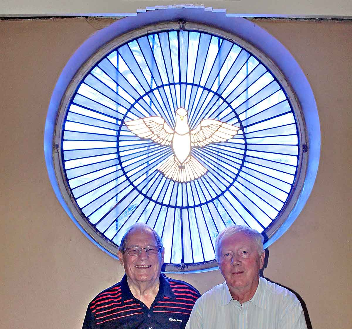 Stained Glass Window Lights Up Church's Centenary